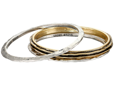 Lucky Brand - Bangle Set (Two-Tone) Bracelet