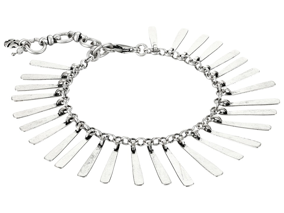 Lucky Brand - Flex Feather Bracelet (Silver) Bracelet