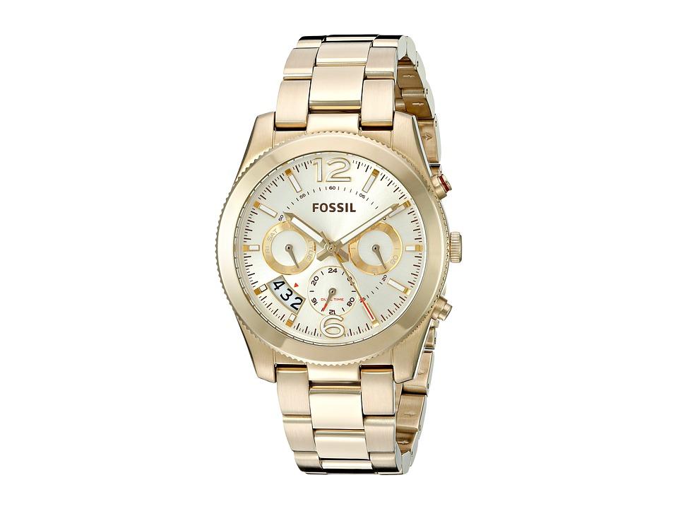 Fossil - Perfect Boyfriend - ES3884 (Gold) Watches
