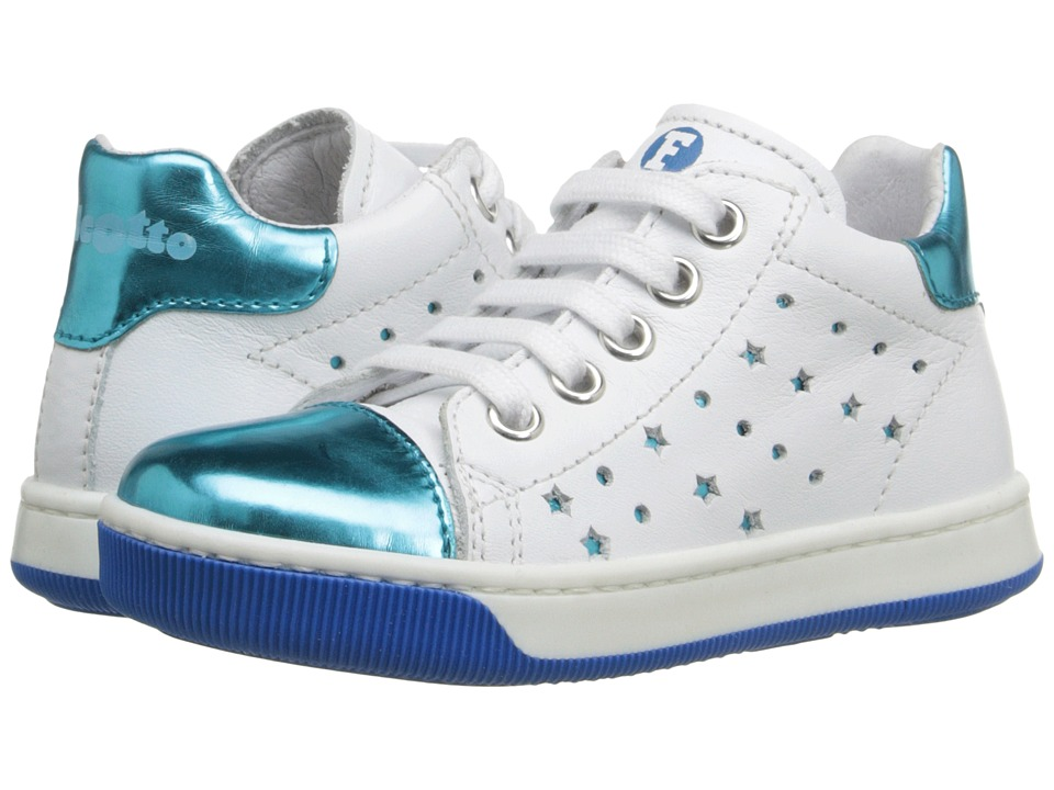 Naturino - Falcotto Starlett SS16 (Toddler) (White/Blue) Girls Shoes