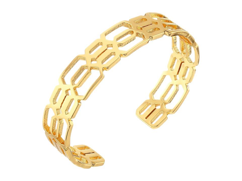 gorjana - Layla Small Cuff Bracelet (Gold) Bracelet
