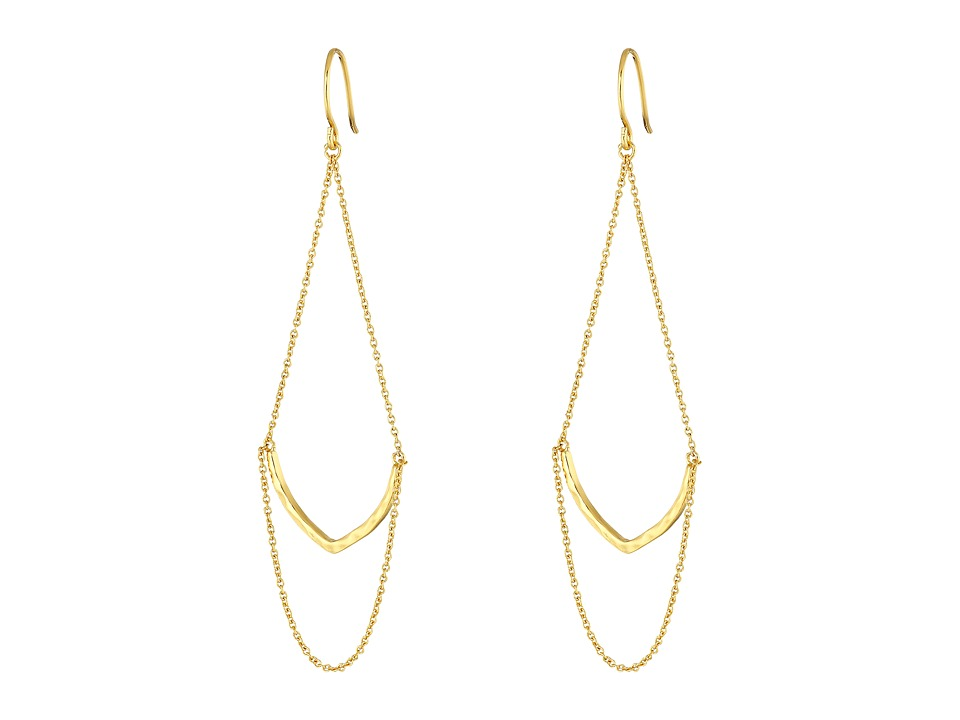 gorjana - Amanda Drop Earrings (Gold) Earring