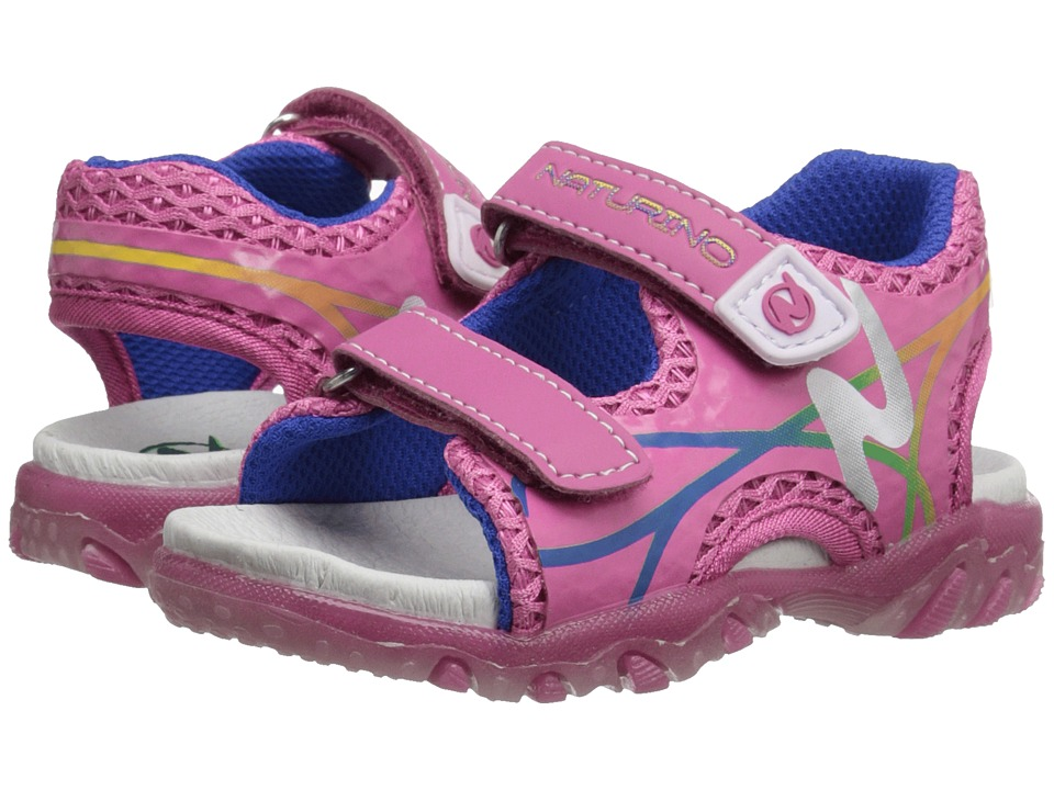 Naturino - Sport 524 SS16 (Toddler/Little Kid) (Fuchsia) Girls Shoes
