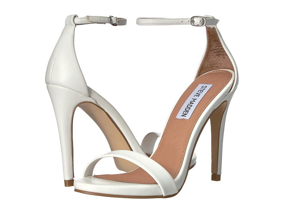 Steve Madden - Stecy (White) High Heels