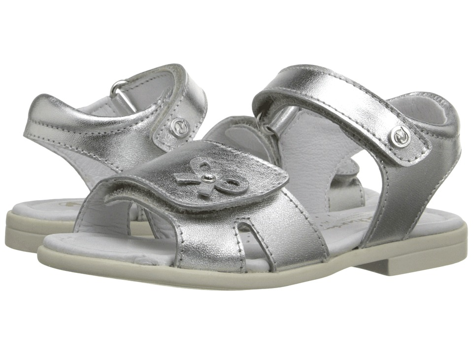 Naturino - Nat. 4069 SS16 (Toddler/Little Kid) (Silver) Girls Shoes