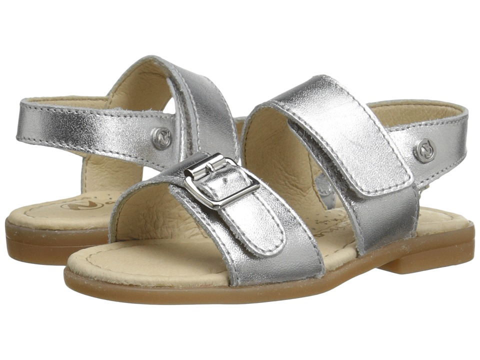 Naturino - Nat. Michele SS16 (Toddler/Little Kid) (Silver) Girls Shoes