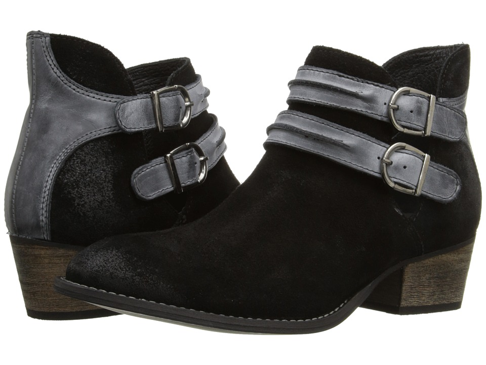 Steve Madden - Raskal (Black Leather) Women