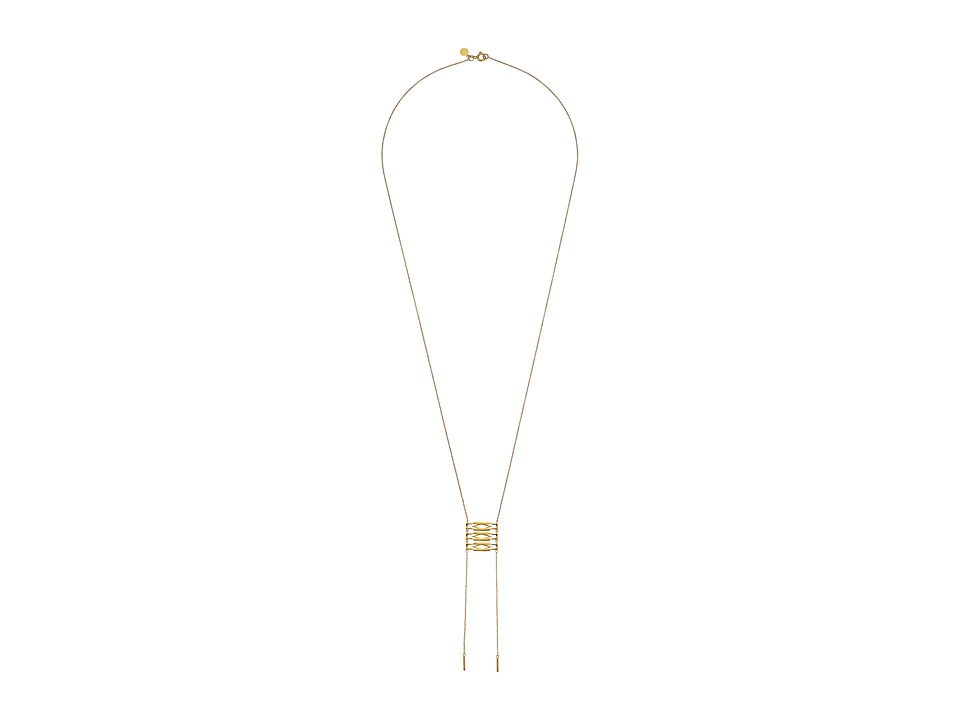 gorjana - Alejo Drop Necklace (Gold) Necklace
