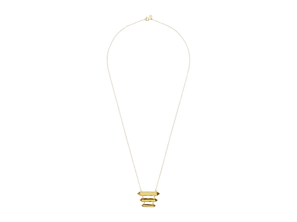 gorjana - Layla Tiered Necklace (Gold) Necklace