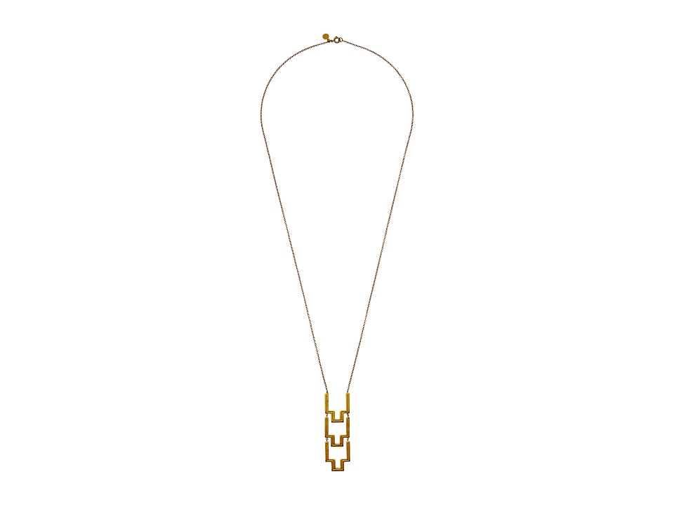 gorjana - Peytin Hinged Necklace (Gold) Necklace