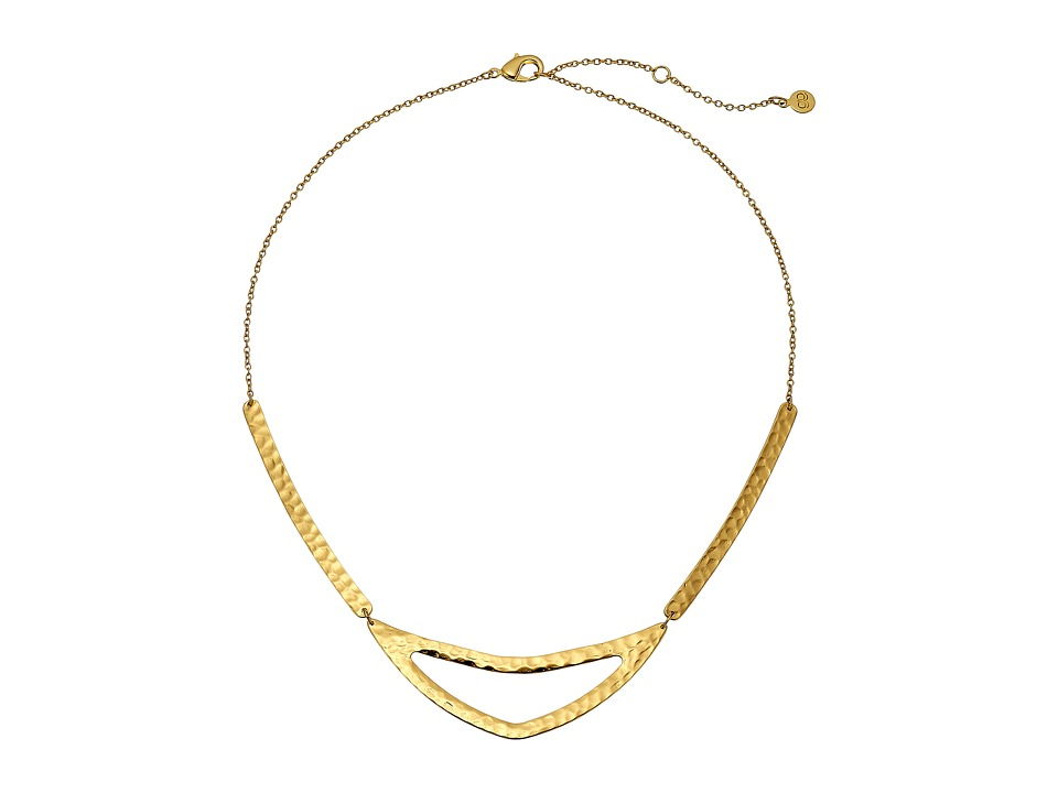 gorjana - Amanda Cutout Necklace (Gold) Necklace