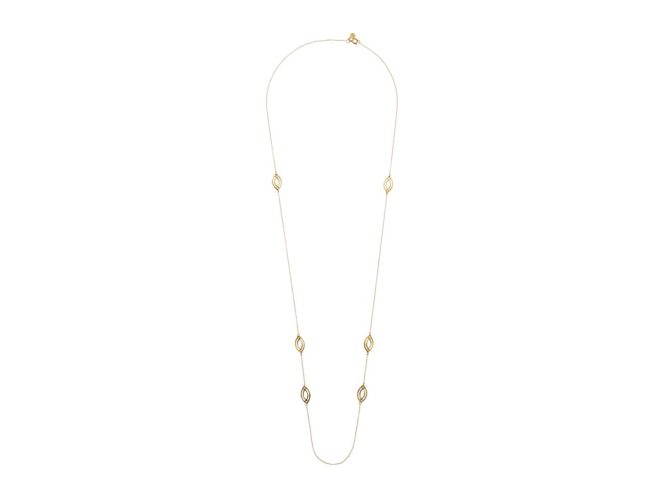 gorjana - Mesa Wave Wrap Necklace (Gold) Necklace