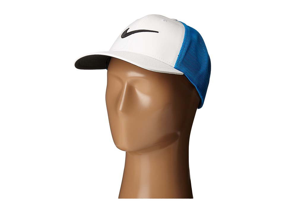 Nike Golf - Legacy 91 Tour Mesh Cap (Photo Blue/White/Anthracite) Caps