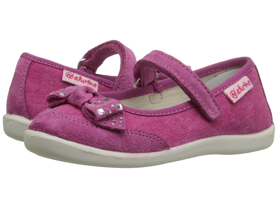Naturino - Nat. 8085 SS16 (Toddler/Little Kid) (Fuchsia) Girls Shoes