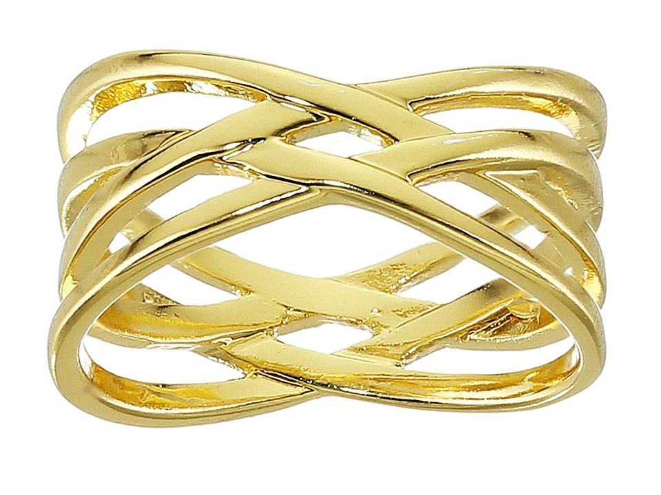 gorjana - Jillian Midi Ring (Gold) Ring