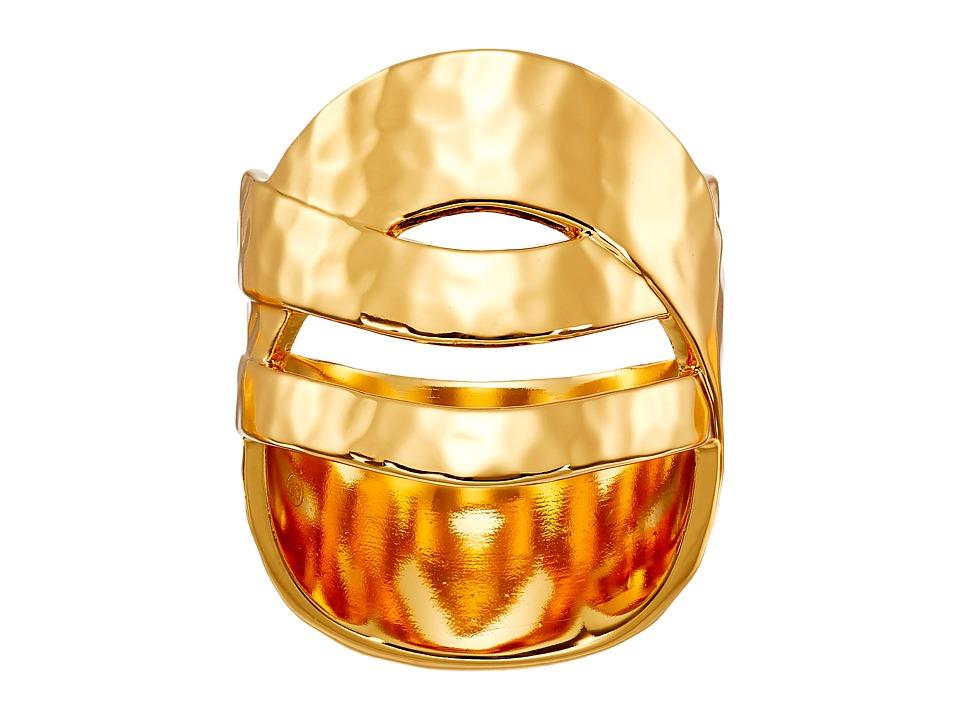 gorjana - Amanda Crossover Ring (Gold) Ring