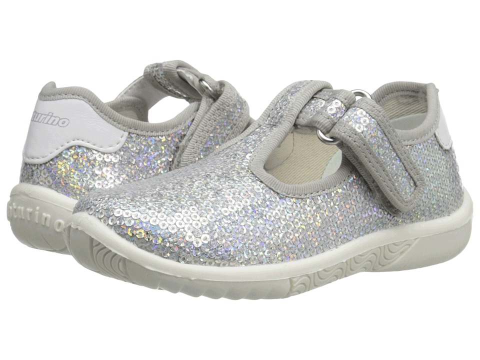 Naturino - Nat. 7477 SS16 (Toddler/Little Kid) (Silver) Girls Shoes