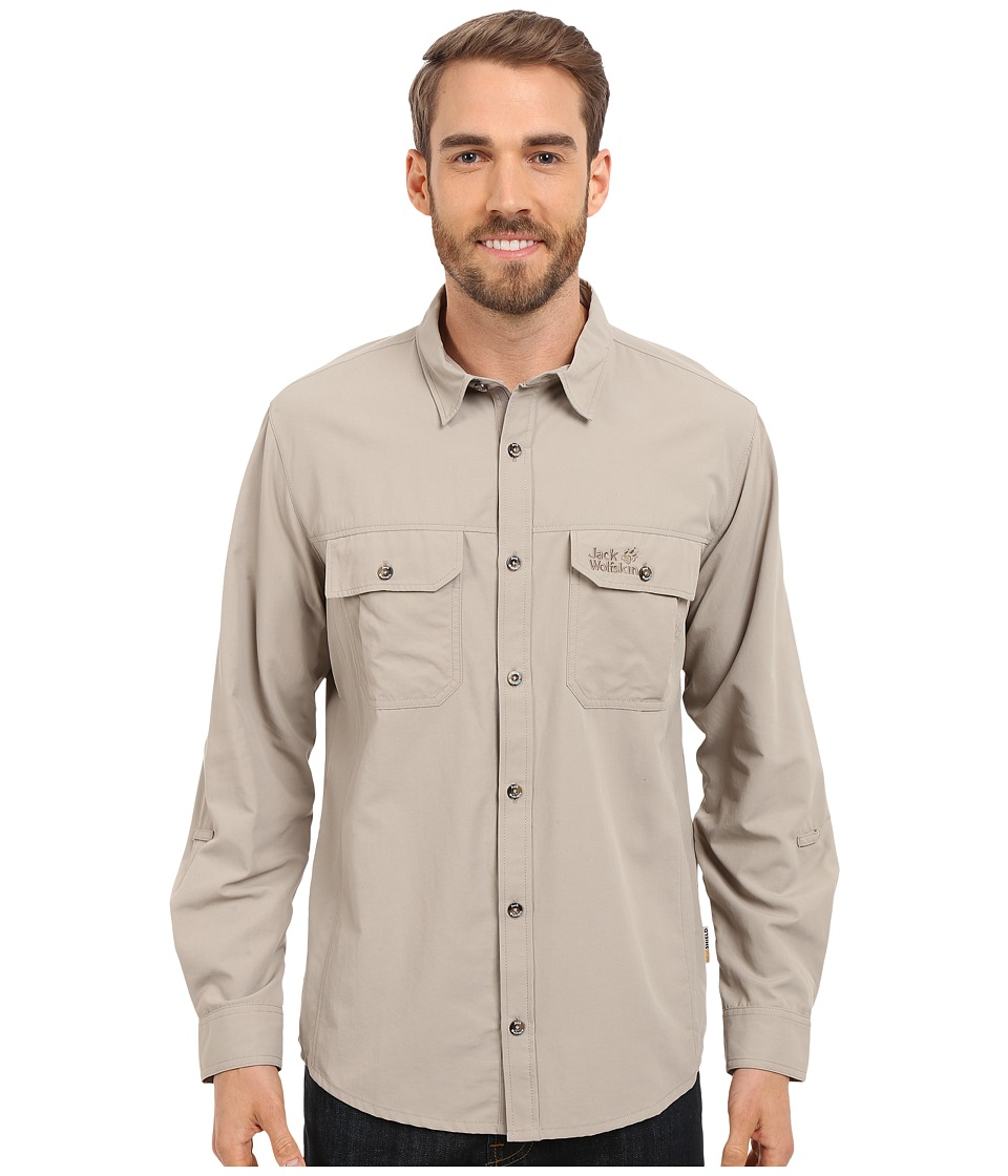 Jack Wolfskin - Brightwater Chill Shirt (Moon Rock) Men's Clothing
