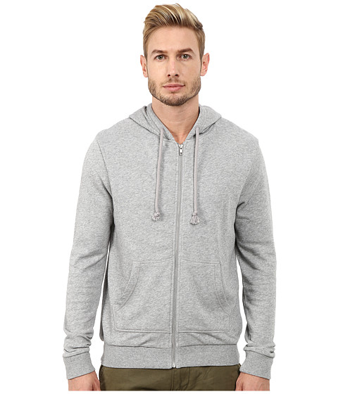 Alternative - Light French Terry Overnight Hoodie (Heather Grey) Men's Sweatshirt