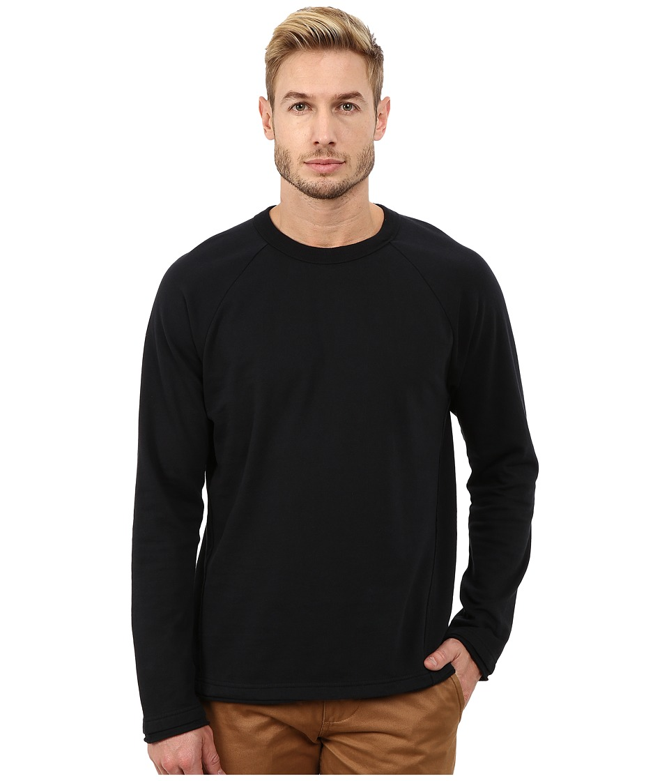 Alternative - Eco Micro Fleece Seasoned Crew Neck (Black) Men's T Shirt