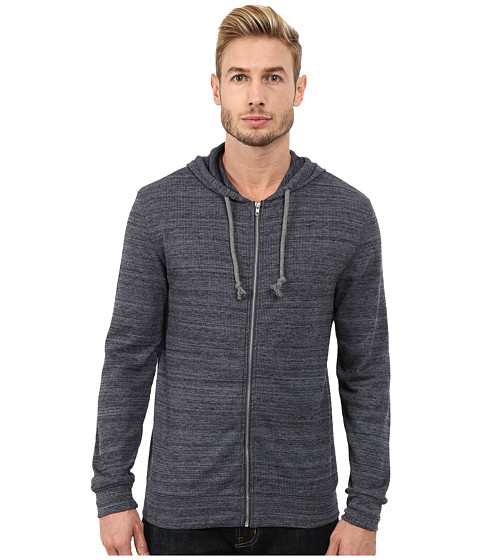 Alternative - Eco Space Dyed Thermal Nomadic Hoodie (Midnight) Men's Sweatshirt