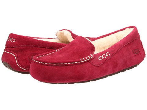 UGG - Ansley (Burgundy Wine) Women's Slippers