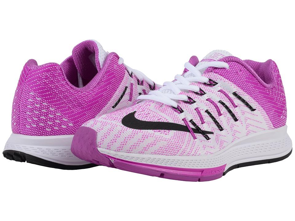 Nike Air Zoom Elite 8 (White/Hyper Violet/Black) Women