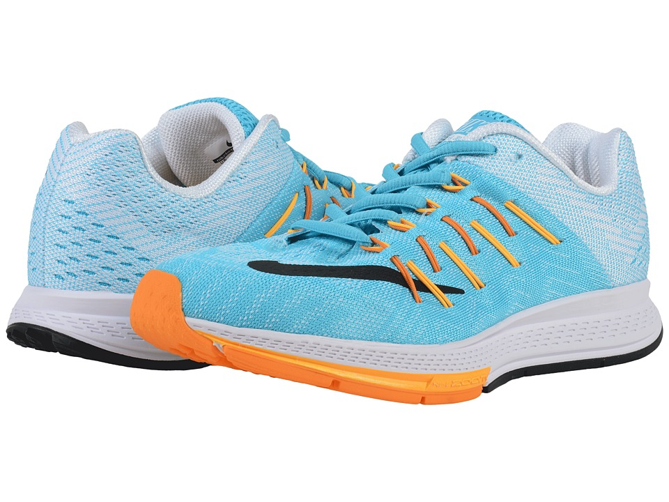 Nike - Air Zoom Elite 8 (Gamma Blue/Laser Orange/Vivid Orange/Black) Women