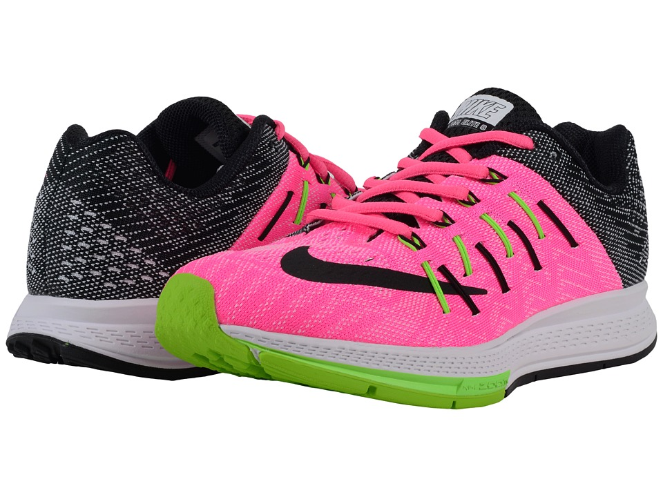 Nike - Air Zoom Elite 8 (Pink Blast/White/Electric Green/Black) Women's Running Shoes