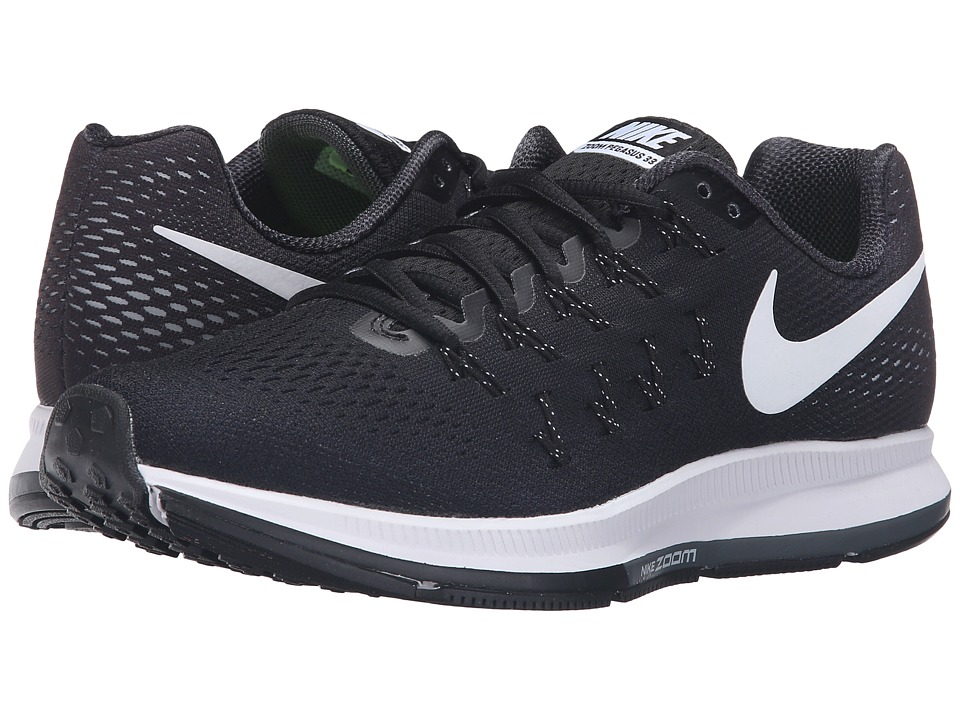 Nike - Air Zoom Pegasus 33 (Black/Cool Grey/Wolf Grey/White) Women's Running Shoes
