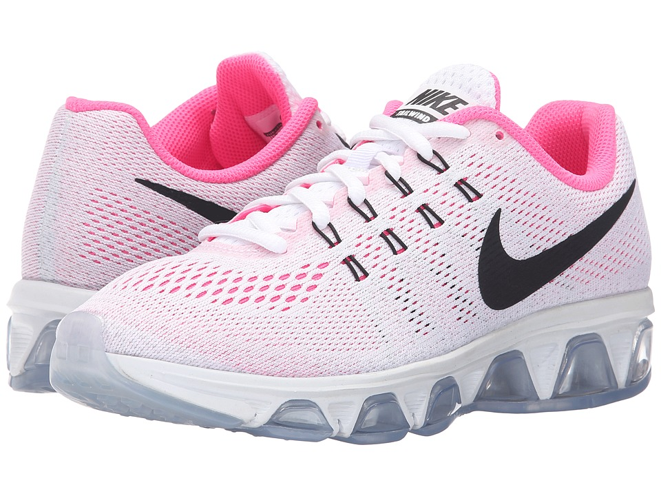 Nike - Air Max Tailwind 8 (White/Pure Platinum/Pink Blast/Black) Women's Running Shoes