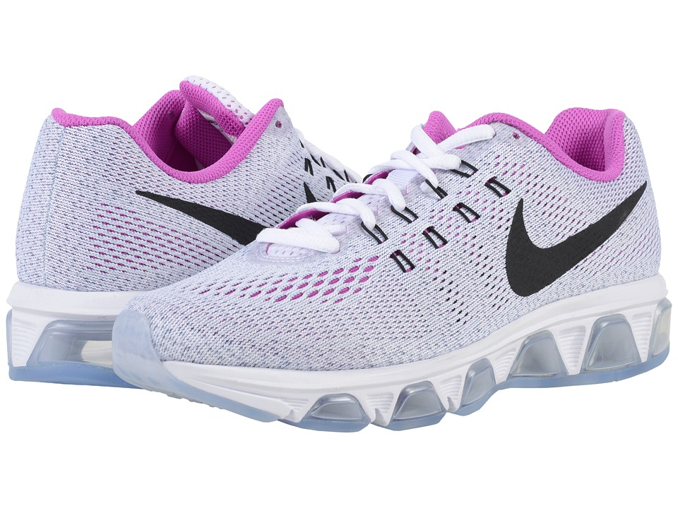 Nike - Air Max Tailwind 8 (White/Blue Grey/Hyper Violet/Black) Women's Running Shoes
