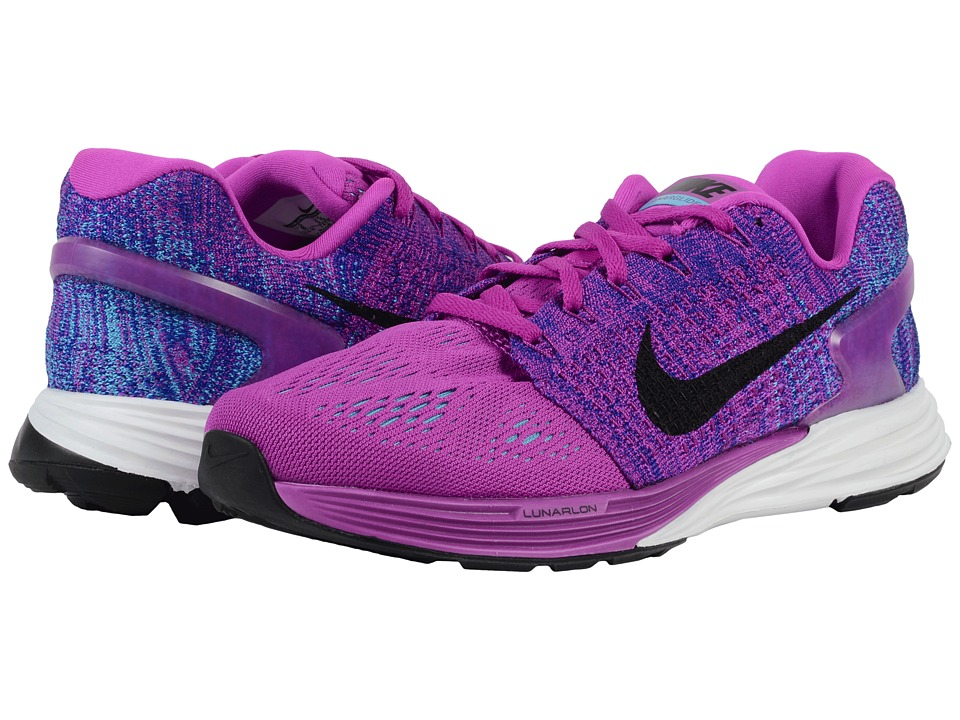 Nike - Lunarglide 7 (Hyper Violet/Concord/Gamma Blue/Black) Women's Running Shoes