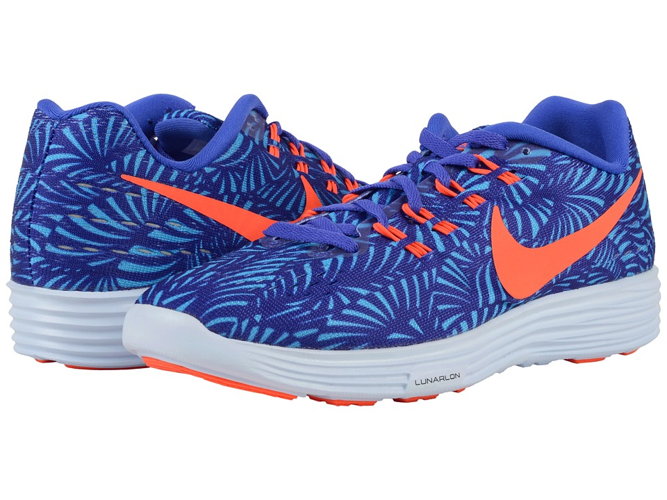 Nike - Lunartempo 2 Print (Persian Violet/Gamma Blue/Blue Tint/Total Crimson) Women's Running Shoes