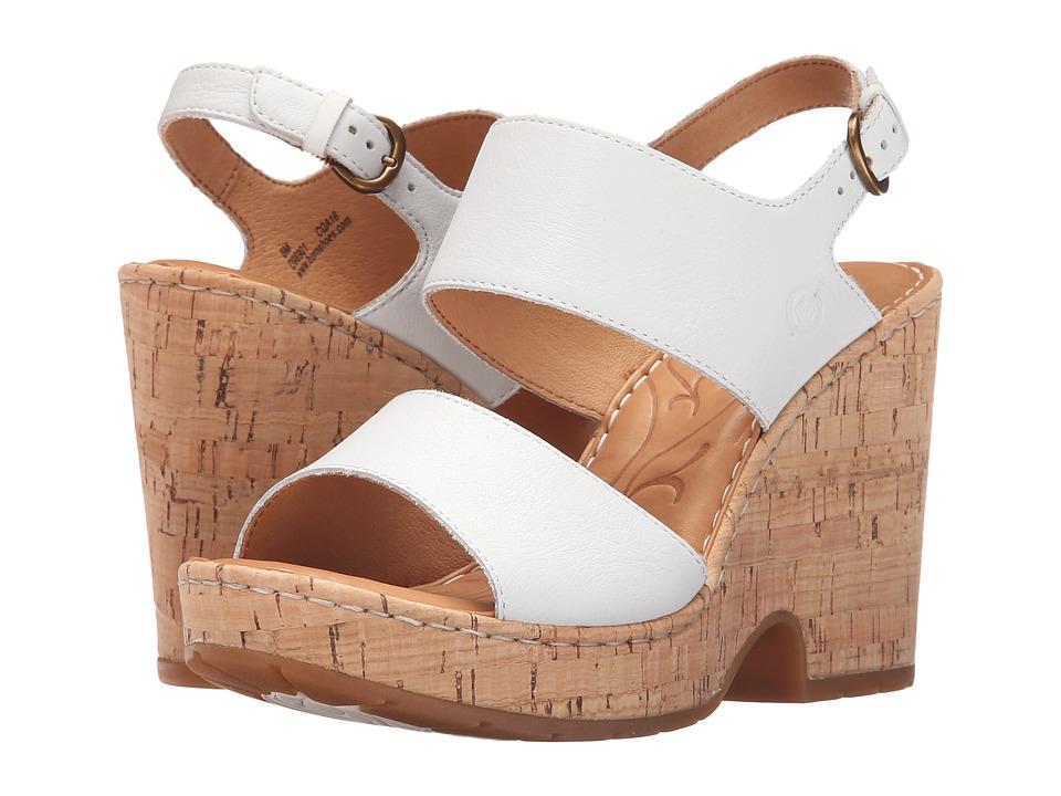Born Annaleigh (Bianco Full Grain Leather) High Heels