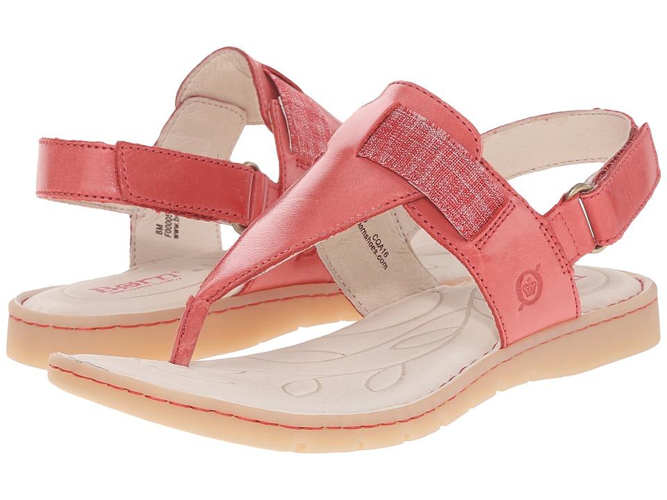 Born - Belluno (Fire Full Grain Leather) Women's Sandals