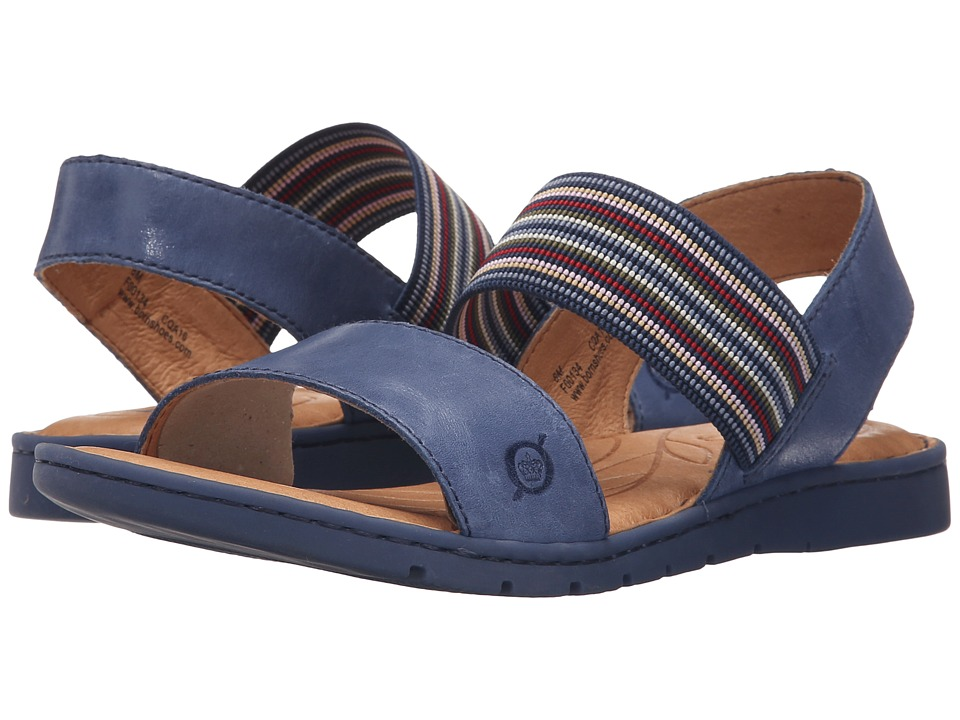 Born - Parson (Ocean Full Grain Leather) Women's Sandals