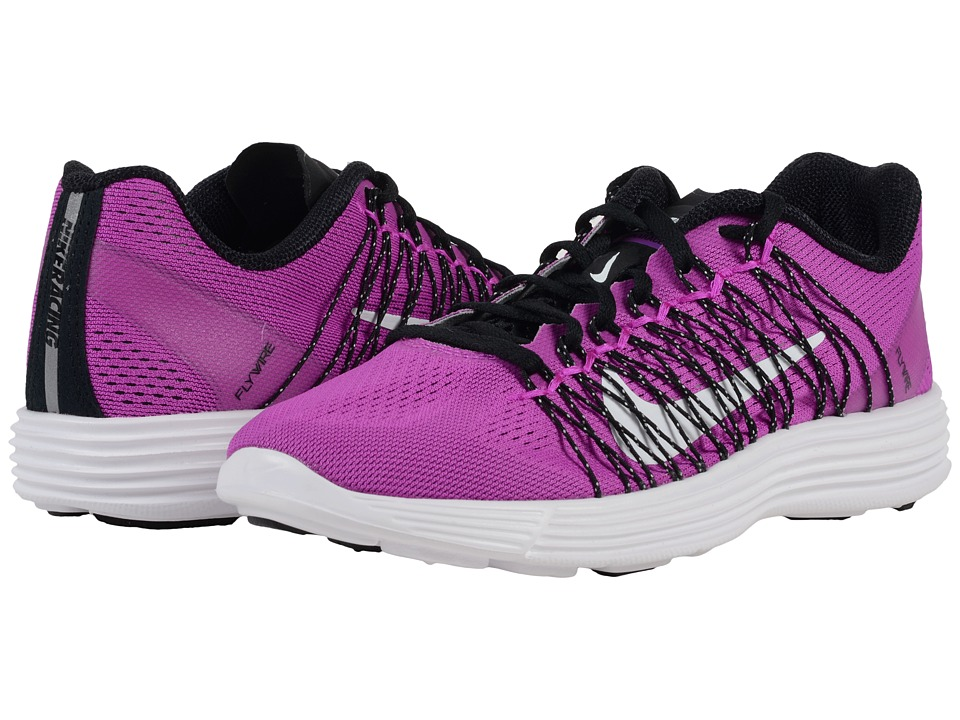 Nike - Lunaracer+ 3 (Hyper Violet/Black/White) Women's Running Shoes