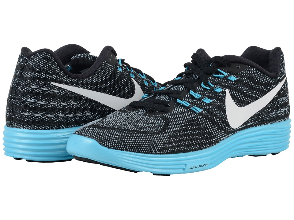 Nike - Lunartempo 2 (Blue Grey/Gamma Blue/Black/White) Women's Running Shoes
