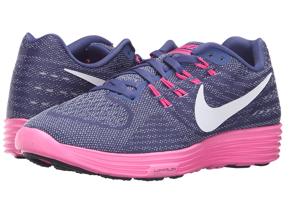 Nike - Lunartempo 2 (Dark Purple Dust/Pink Blast/Blue Grey/Black) Women's Running Shoes