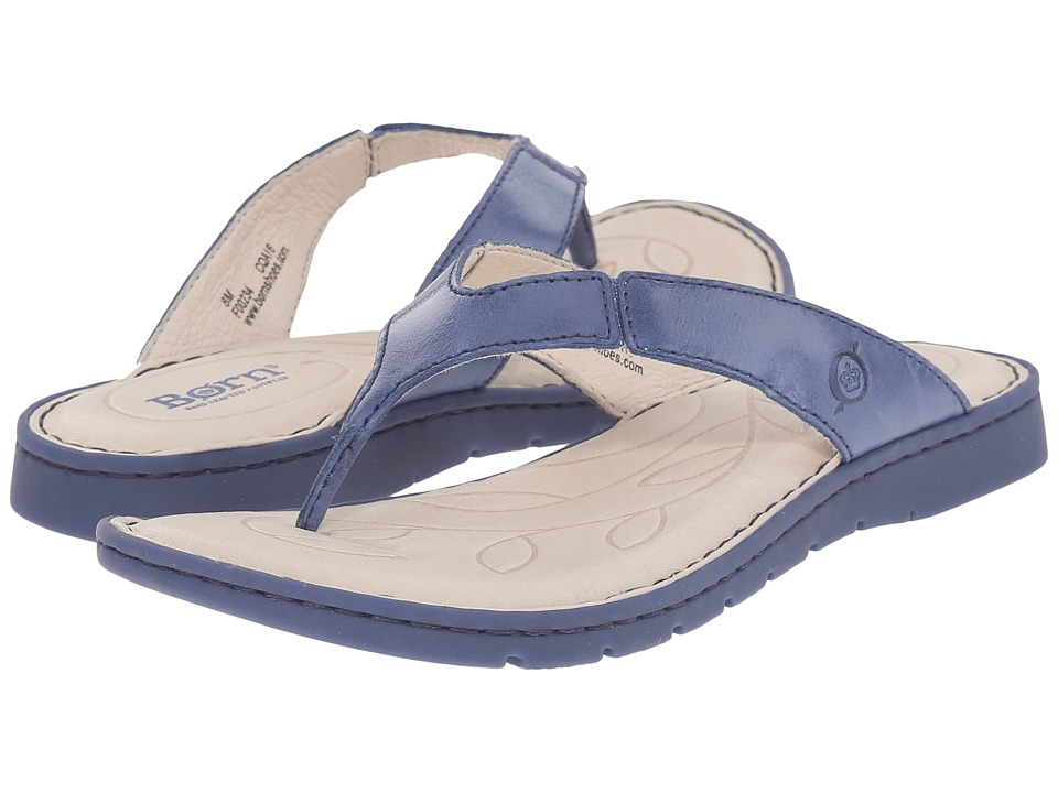Born - Amelie (Ocean Full Grain Leather) Women's Sandals