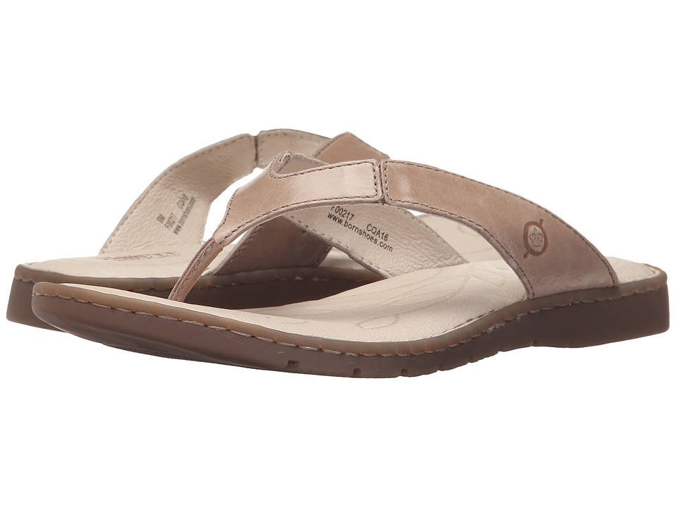 Born - Amelie (Taupe Full Grain Leather) Women's Sandals
