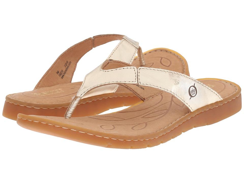 Born - Amelie (Platino Metallic) Women's Sandals
