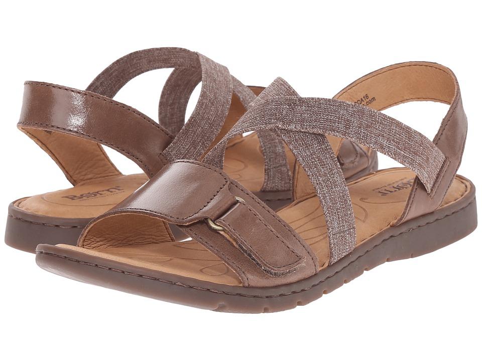 Born - Britton (Dark Brown Full Grain Leather) Women's Boots