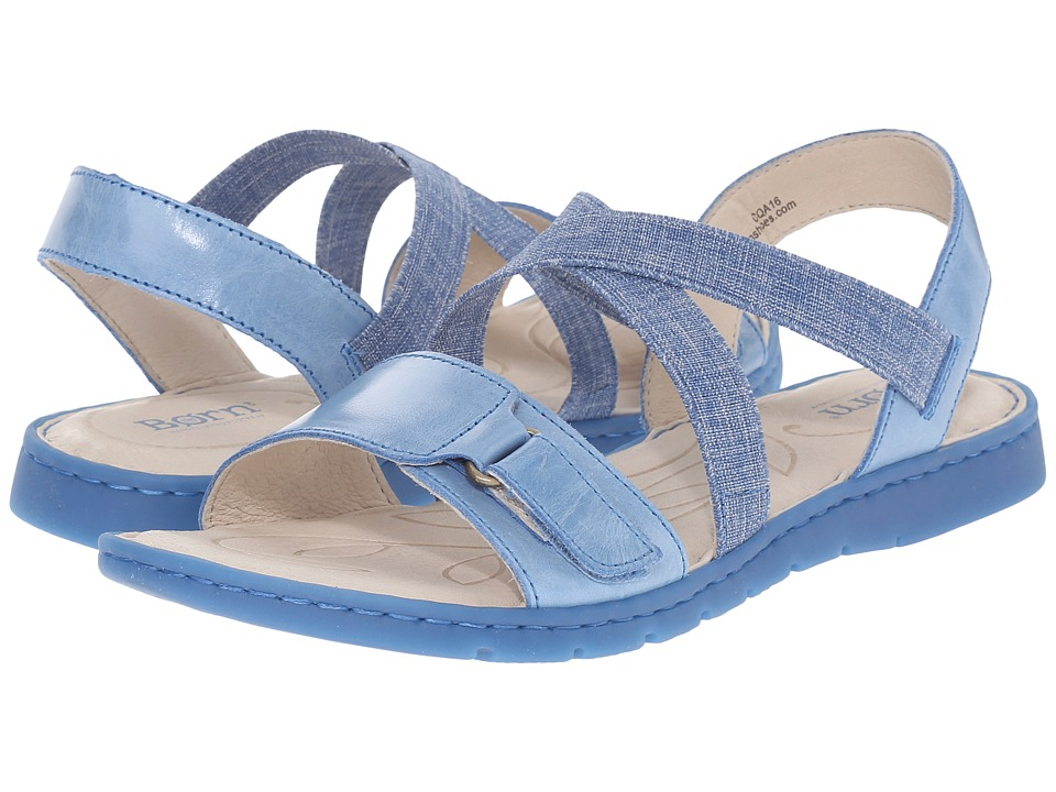 Born Britton (Sea Blue Full Grain Leather) Women