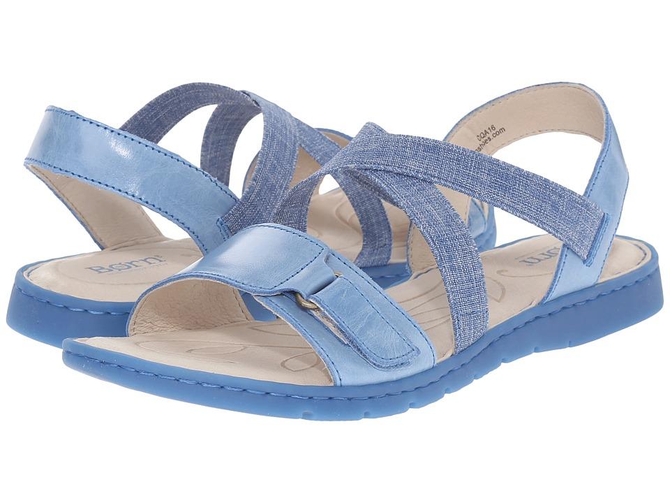 Born - Britton (Sea Blue Full Grain Leather) Women's Boots
