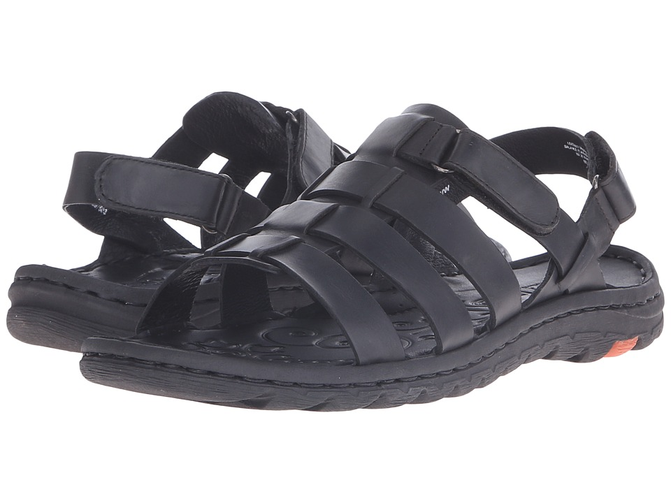 Born - Florian (Black Full Grain Leather) Women's Sandals