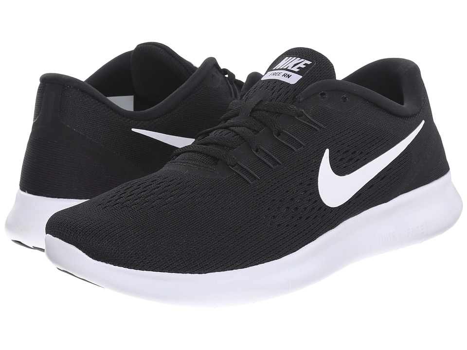 Nike - Free RN (Black/Anthracite/White) Women's Running Shoes