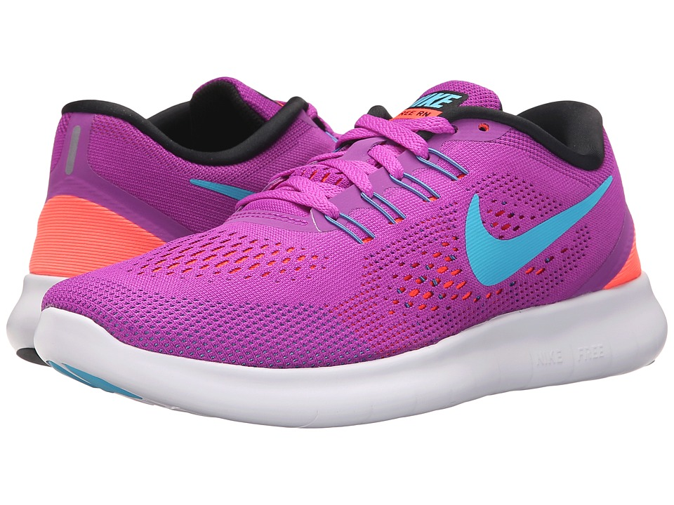 Nike - Free RN (Hyper Violet/Black/Total Crimson/Gamma Blue) Women's Running Shoes