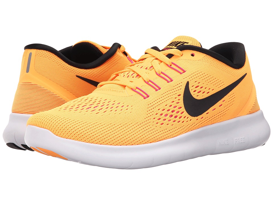 Nike - Free RN (Laser Orange/Pink Blast/Total Orange/Black) Women's Running Shoes
